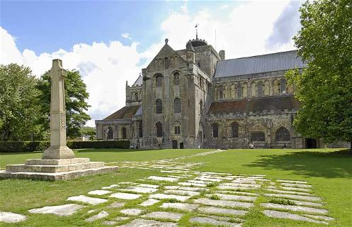 Romsey Abbey exterior